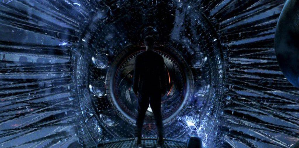 Neo frente a Deux ex machina, en Matrix Revolutions.