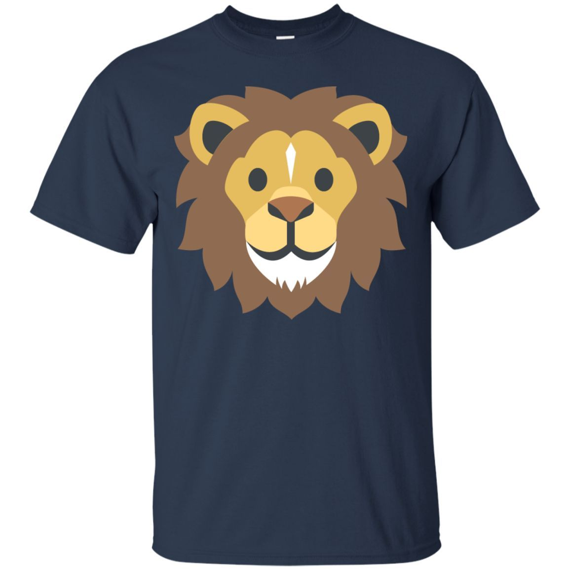 Lion Face Emoji Unisex T-Shirt