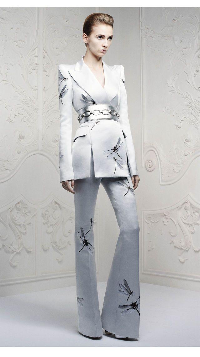 high fashion. Alexander McQueen .Pre-Spring/Summer 2013 9/28