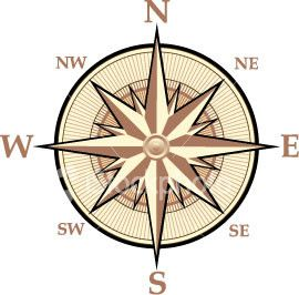 are located on a map we use a compass rose. A compass rose ...