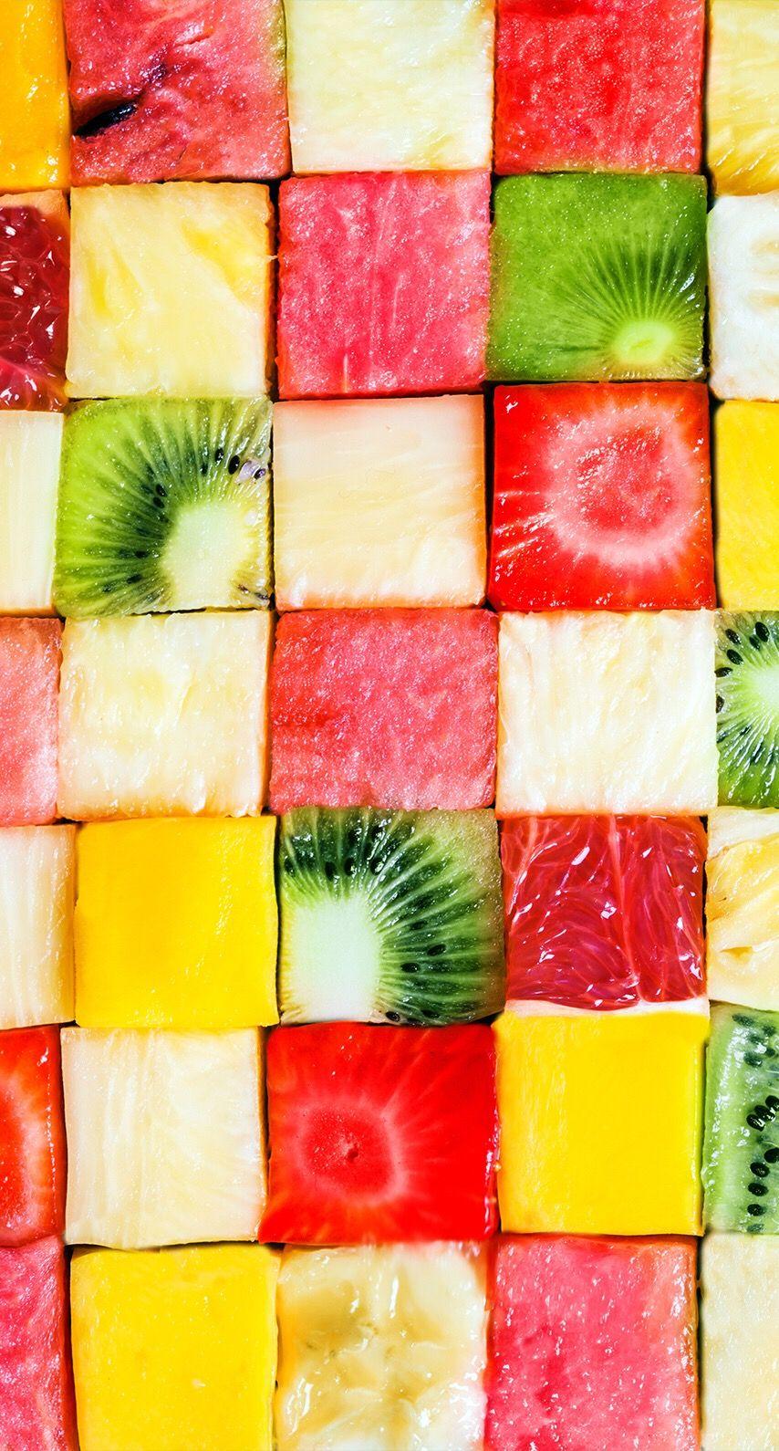 見て楽しい食べて美味しいフルーツ盛り フルーツ 夏 フルーツ 壁紙