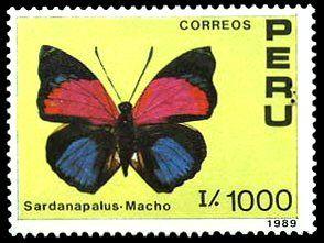 1990 mariposas Perú.