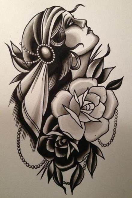 Tattoo sleeve traditional gypsy girls 47 ideas for 2019