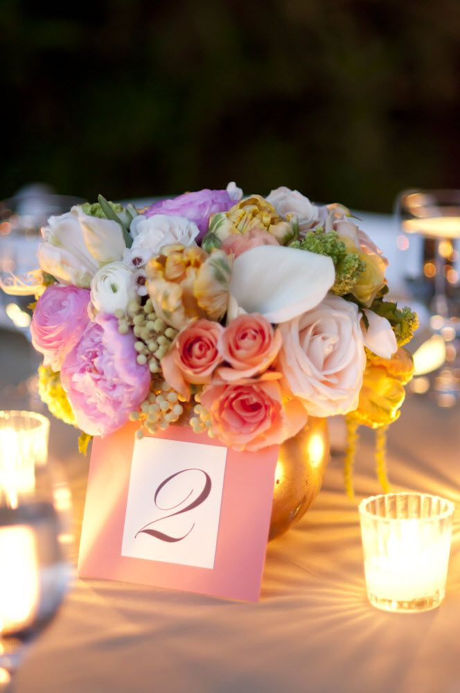 Truly romantic wedding events flowers centerpiece romantic real wedding gallery romantic wedding flower centerpieces outdoor wedding reception roses pastels spring nuptials las vegas wedding with vintage flair junglespirit Choice Image