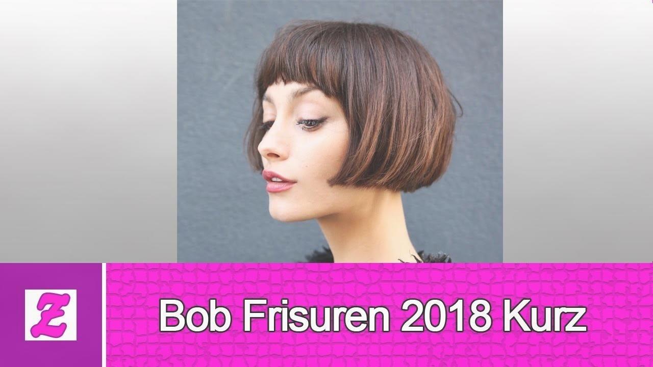 Schön Bob Frisuren 2018 Kurz Youtube Frauen Haare Frisuren