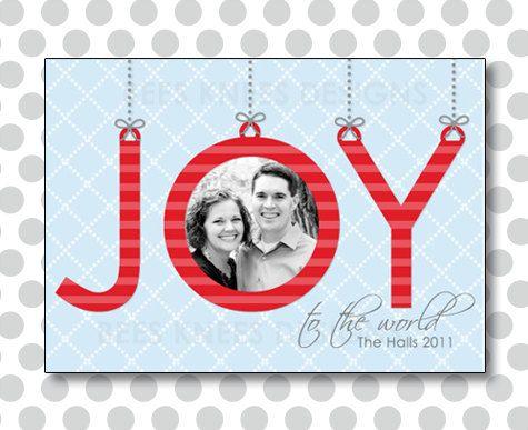 Photo Christmas Card, Holiday Card, Unique Christmas Card