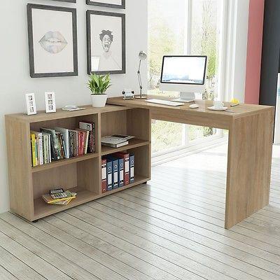 Pc eckschreibtisch  Details zu Computertisch Schreibtisch Winkelschreibtisch PC ...