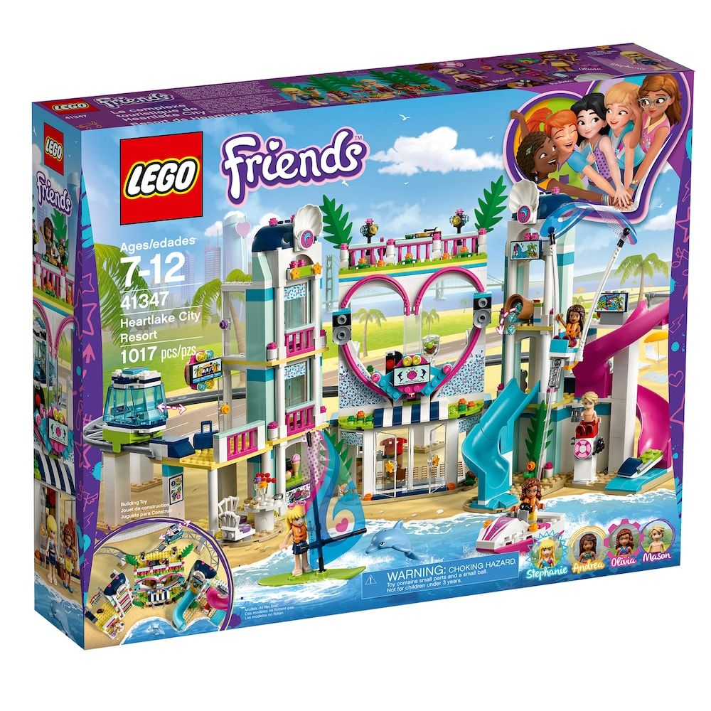 Lego Friends Heartlake City Resort Set 41347 Products Lego