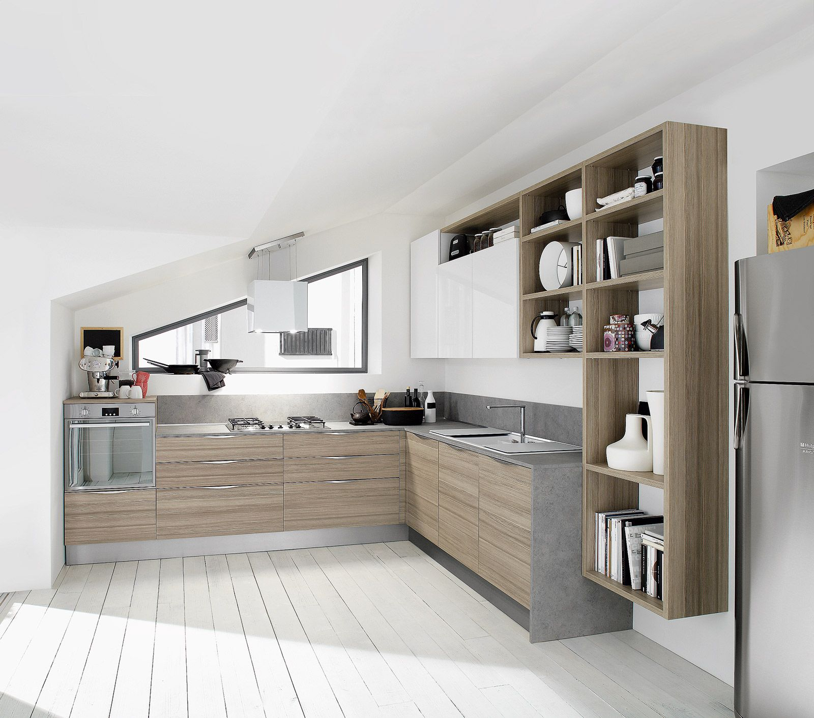 Tv Cucina Piccola Cucina A Forma Di L Google Keresés Kitchen Pinterest