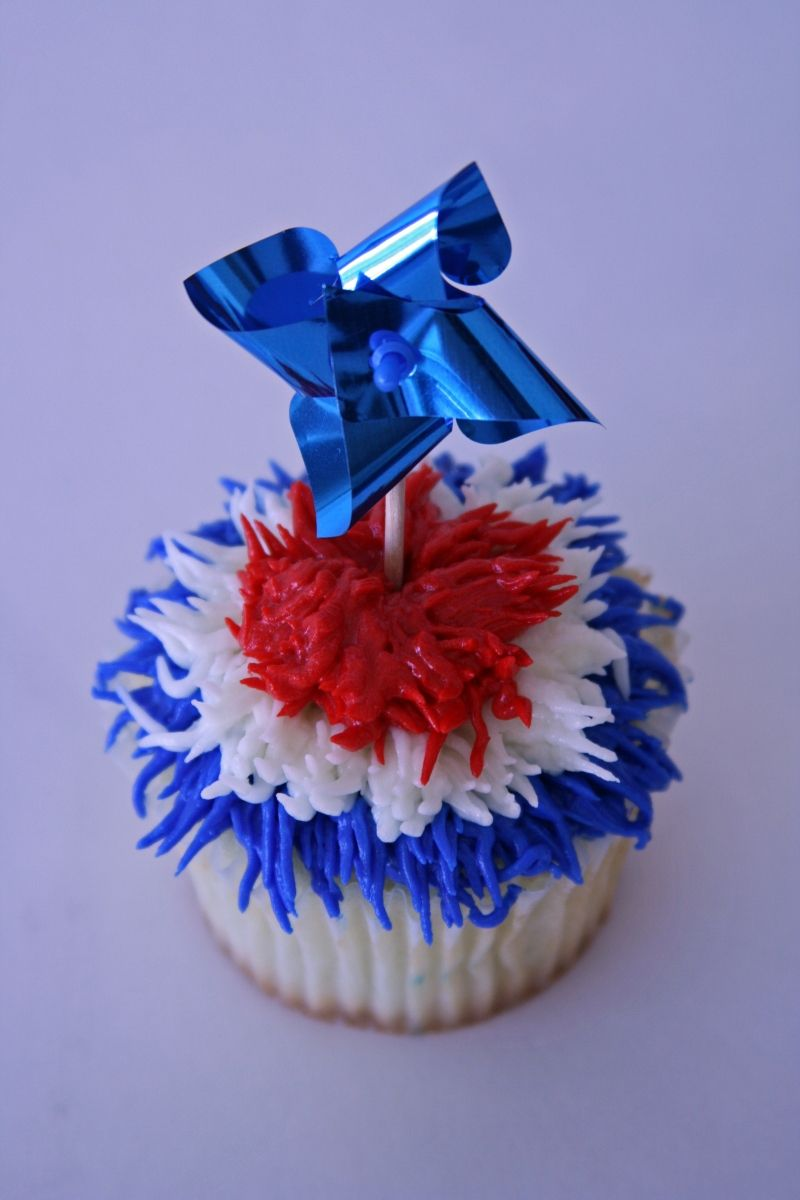 4th of july cake toppers