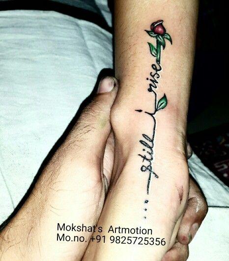 Still i rise tattoo done by mokshat 39 s artmotion tattoo for Still breathing tattoo