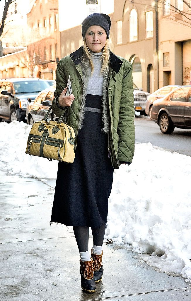 Snow Problem! 33 Blizzard-Proof Street Style Looks | Winter storm