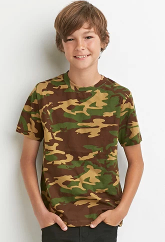 7f95db1ab06a4 Camo Tee (Kids) | FOREVER 21 BOYS | #forever21kids | forever21 ...
