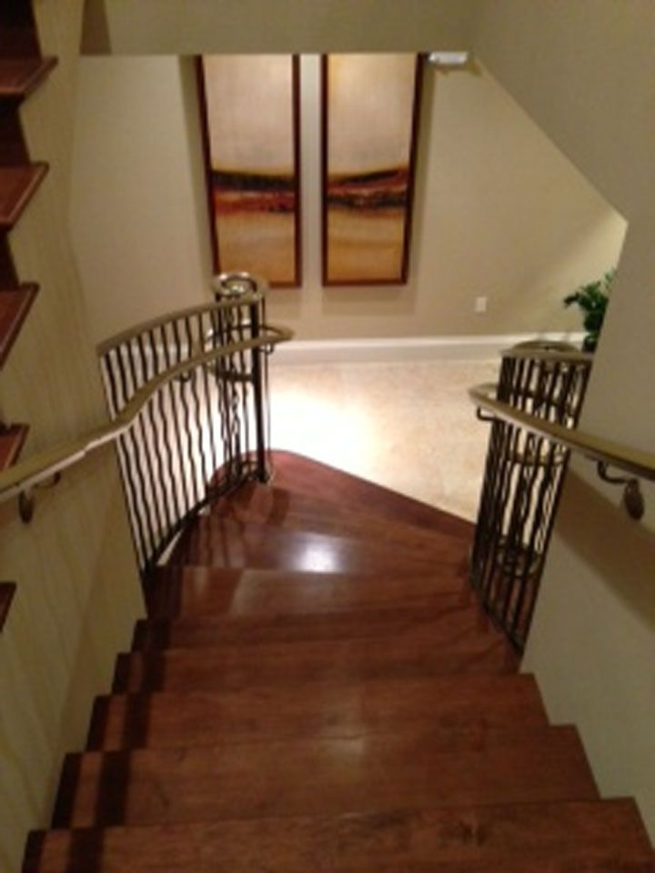 Best Hard Maple Wood Stair Tread The Rich Warm Look Of Hard 400 x 300