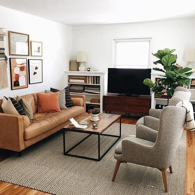 Simple Small Living Room Interiordesign: 50 Modern Fireplace Ideas To Fall In Love With In 2020