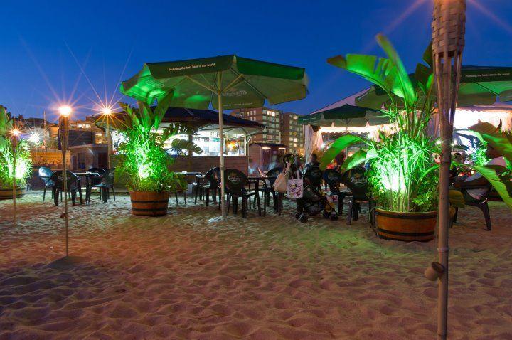 La Rotonda Masnou. Chiringuito Lounge Beach Club.