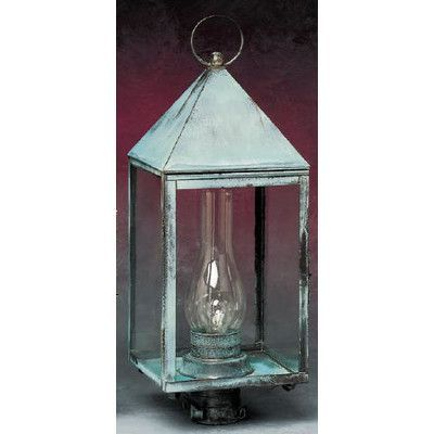 Brass Traditions 500 Series 1 Light Lantern Head Shade Type Clear
