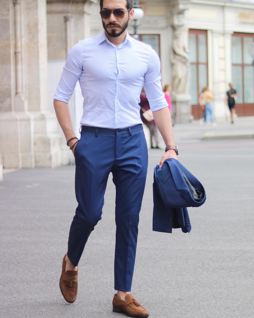 Good Afternoon Rate This Outfit Guys 1 10 Formal Men Outfit Mens Fashion Suits Mens Pants Fashion