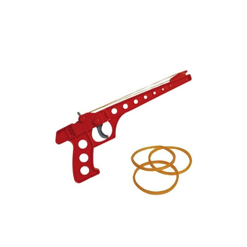 Pistola de Plástico con Goma