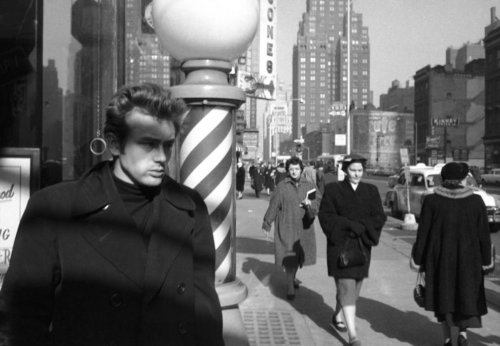 New York, 1955. Photography by Dennis Stock