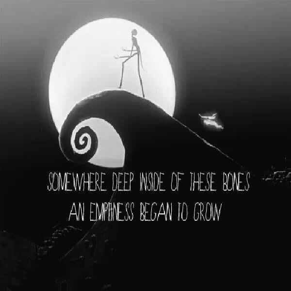 The Nightmare Before Christmas Saying The Wonderful World Of