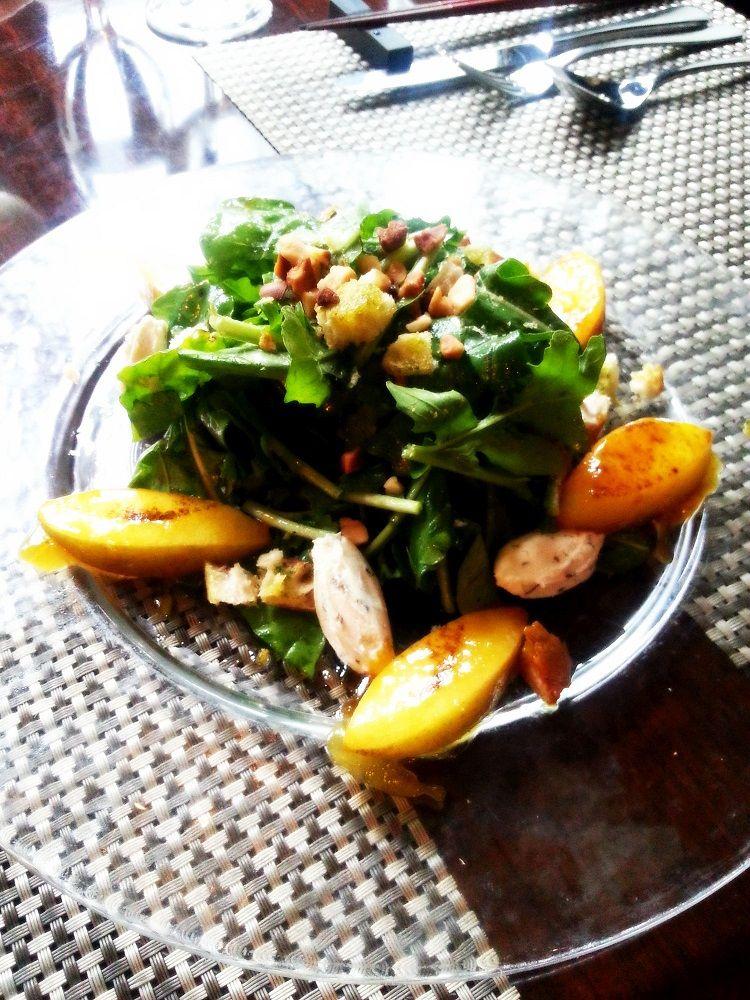 사과 카라멜과 크림치즈 샐러드 Caramelized Apples Salad