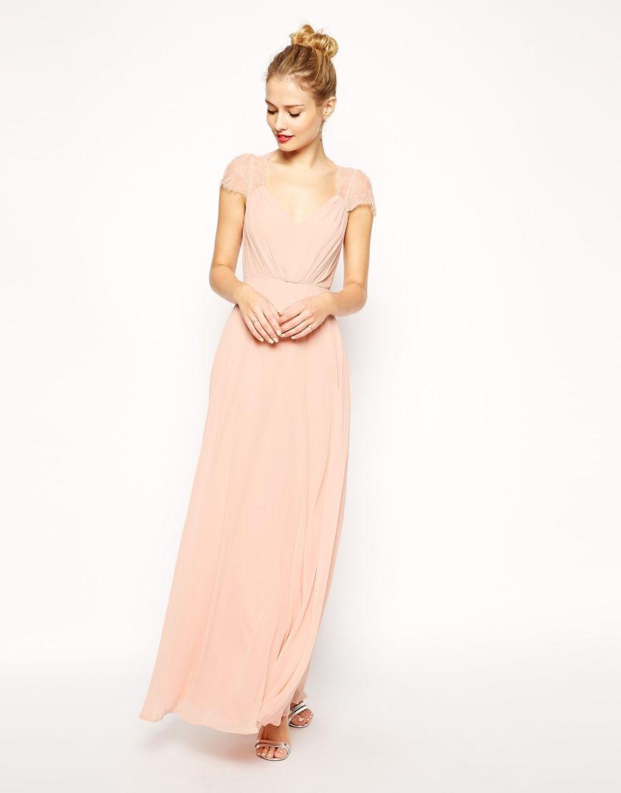 Image 4 - ASOS - Kate - Maxi robe en dentelle | mariage | Pinterest ...