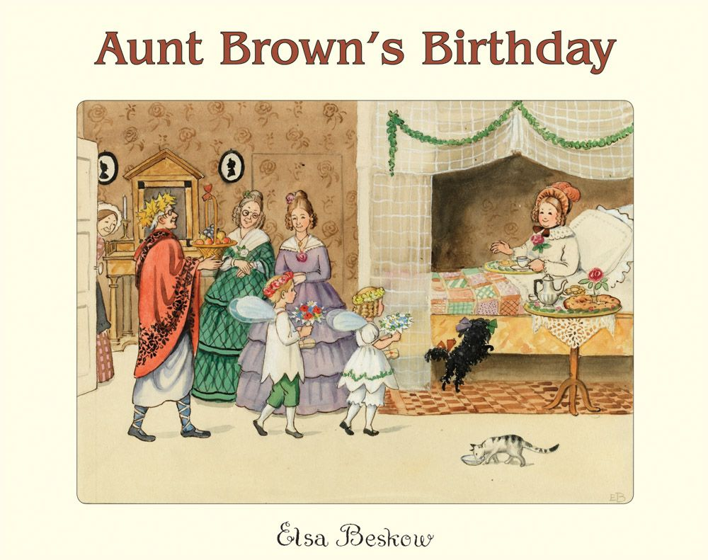 tant bruns födelsedag Elsa Beskow   Tant Bruns Födelsedag (Aunt Brown's Birthday 1925  tant bruns födelsedag