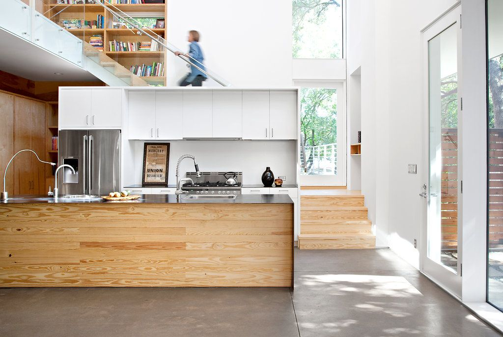 An Austin Architect Turns Builder To Get A House Done House Home Design