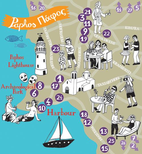 Bianca Tschaikner - Map of Paphos