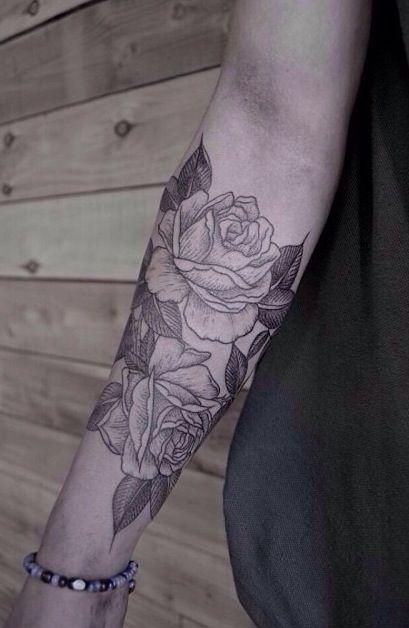 Love This Rose Tattoo Ink Tatouage Tatouage Rose En Tatouage Fleur