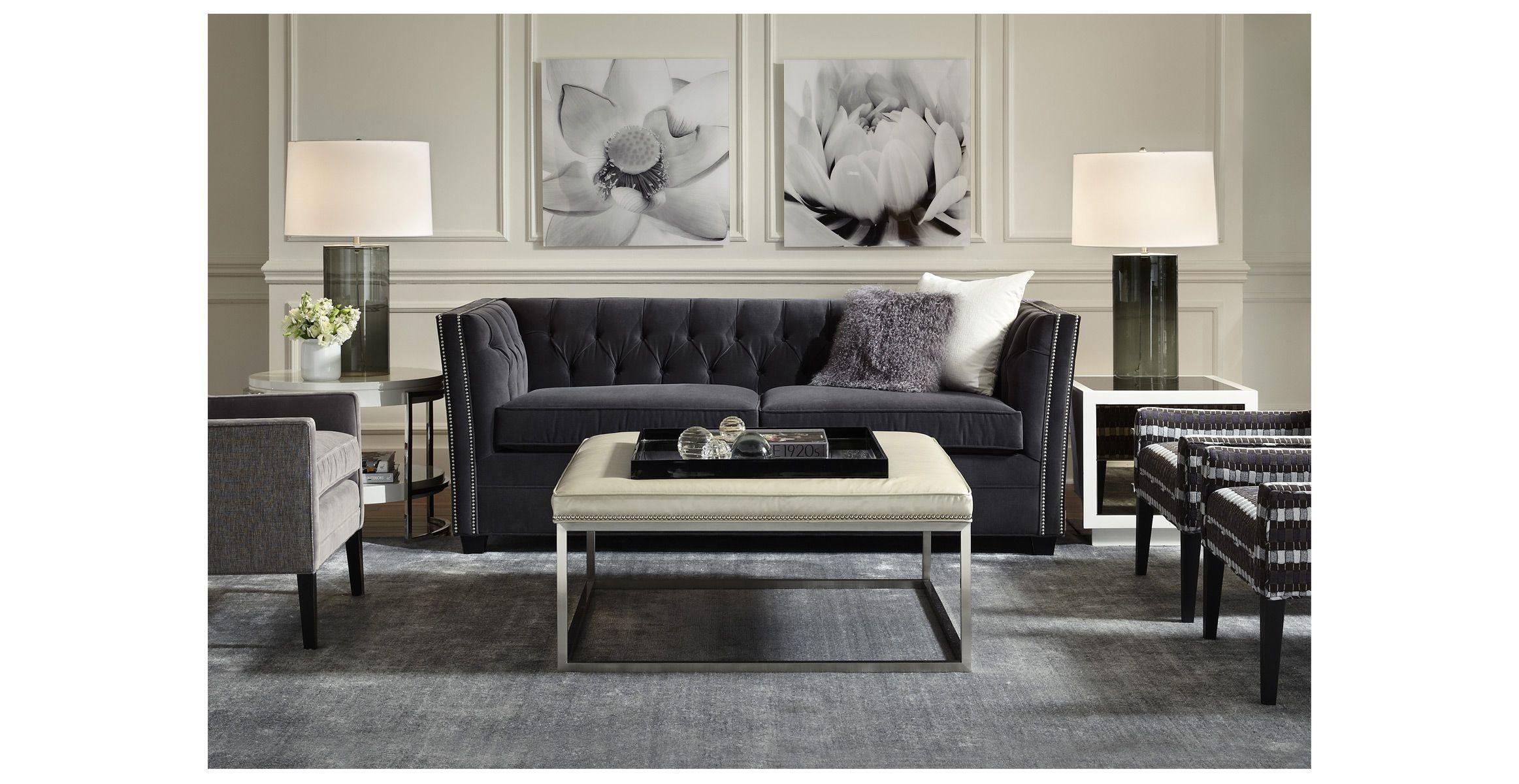 SHIMMER RUG Mitchell Gold + Bob Williams Clean sofa