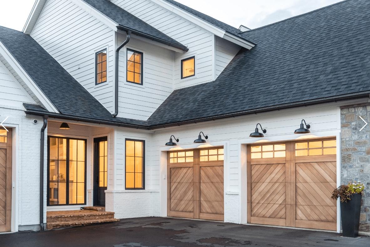 Front Door Fun Because First Impressions Matter The Cottage Market In 2021 Garage Door Design Modern Farmhouse Exterior House Exterior