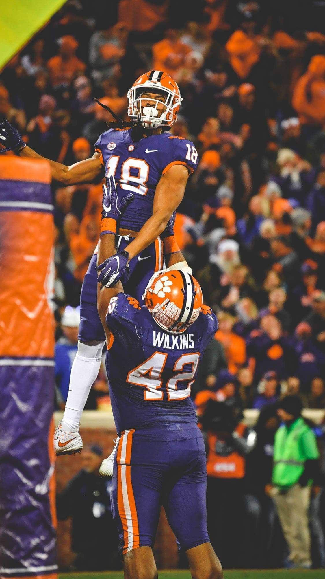 Pin By Kimberly Dean On My Tigers Football Clemson Tigers Football Clemson Football Clemson