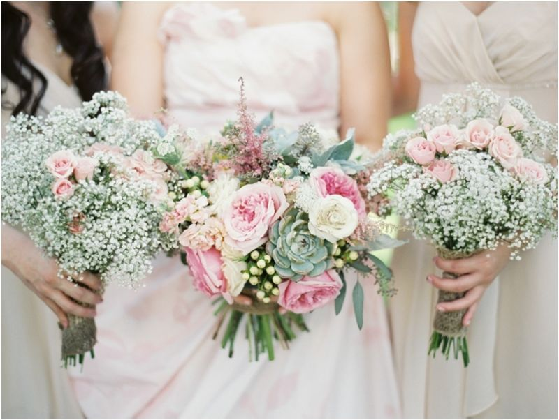 baby breath wedding bouquet photo by brushfire photography floral of garden roses 1417