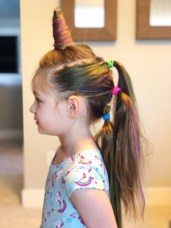 Pin De Jessica Carreon En Crazy Hair Day En 2020 Peinados