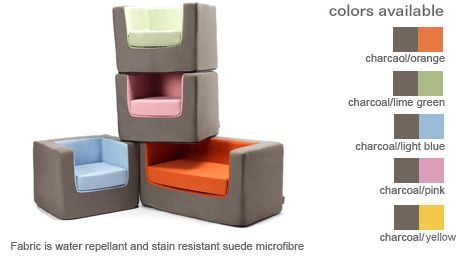 Merveilleux Cubino Chair U0026 Loveseat, Available Colors   Modern Nursery Furniture By  Monte Design