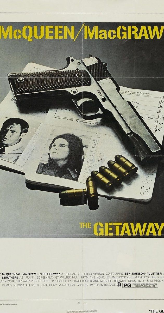 Directed By Sam Peckinpah With Steve Mcqueen Ali Macgraw Ben Johnson Sally Struthers A Recently Released Ex Con A Steve Mcqueen Ali Macgraw Sam Peckinpah