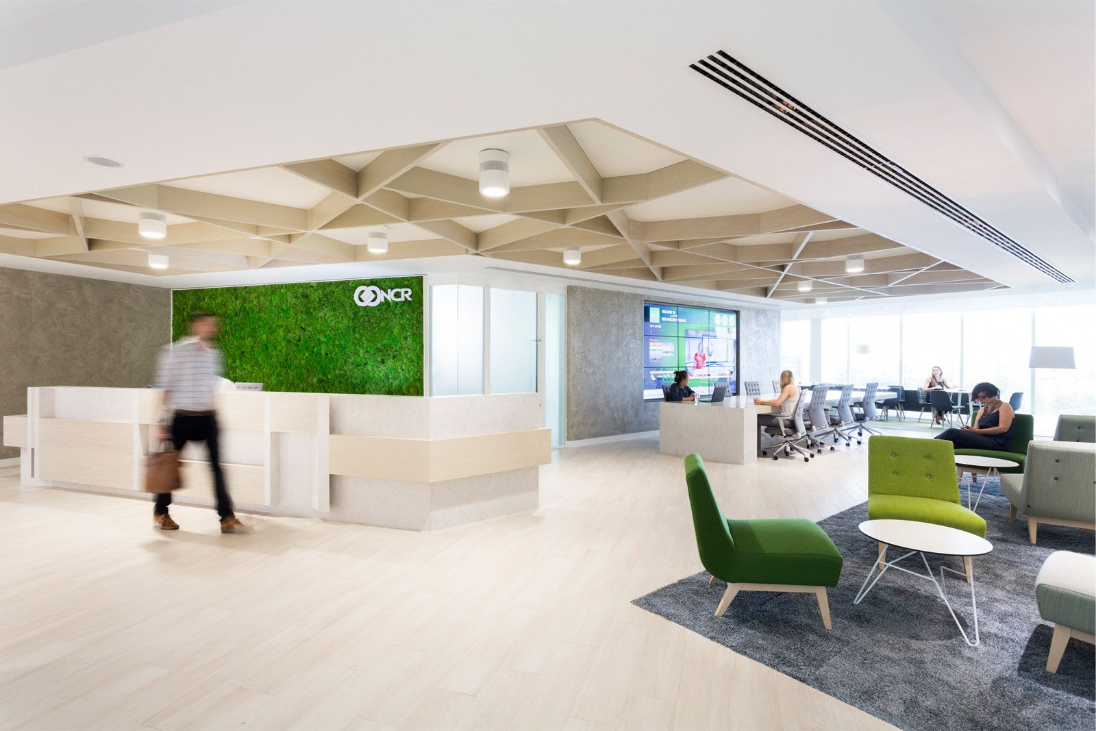 NCR, London uses biophilic design principles. Anna Breheny ...