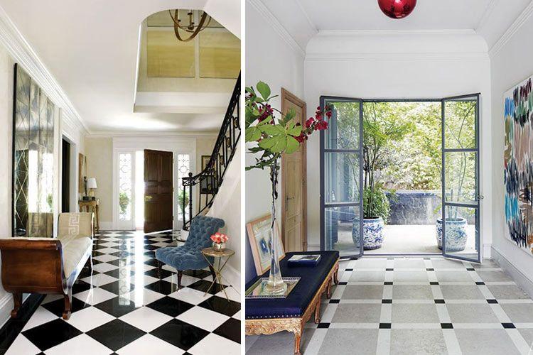 Cmo decorar recibidores amplios decoracin casa Pinterest