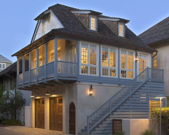 Best Outside Stairs For 2 Story Home Google Search Exterior 400 x 300