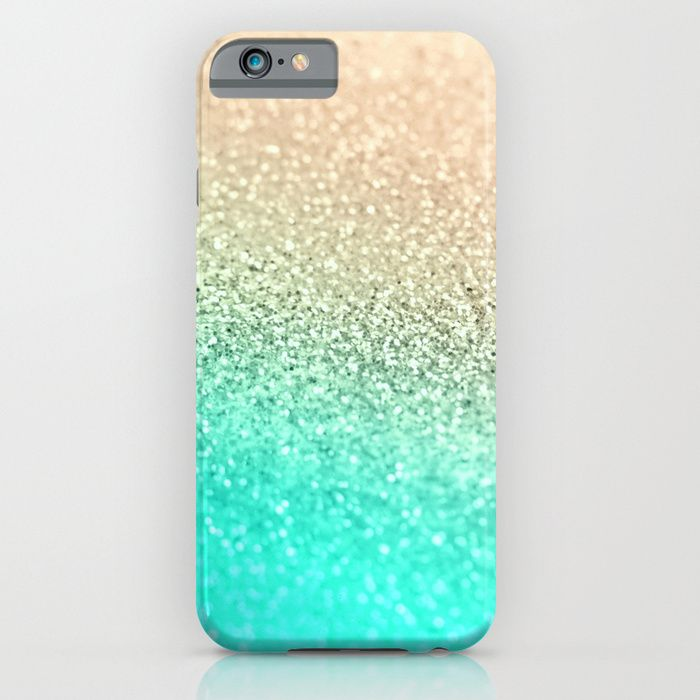 the latest 9d9ed e69e9 GOLD AQUA iPhone & iPod Case by Monika Strigel by Monika Strigel ...