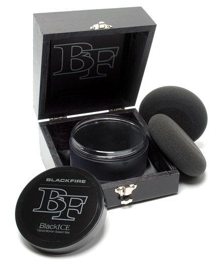 blackfire blackice hybrid montan sealant wax, best black car wax
