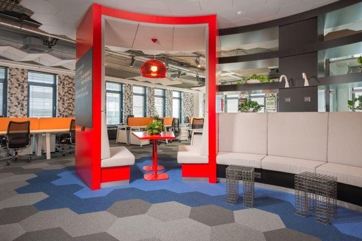 ecommpay office interior by katz riga latvia retail design blog