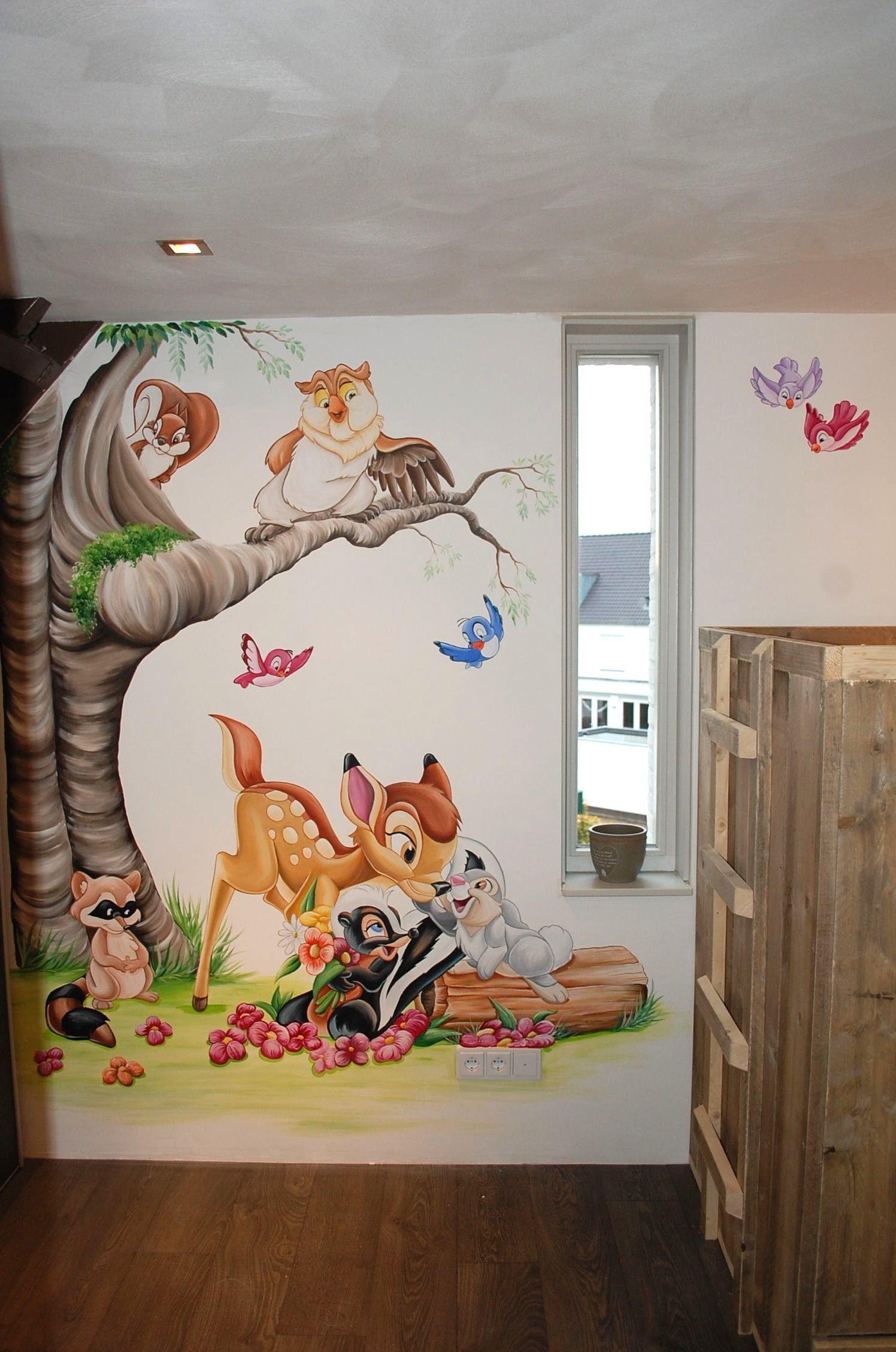 Kinderzimmer Wandgestaltung Disney In 2020 Kinder Zimmer
