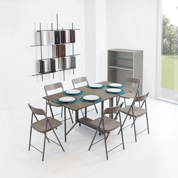 Ensemble Console Dining Table Hidden Chairs Table Dining