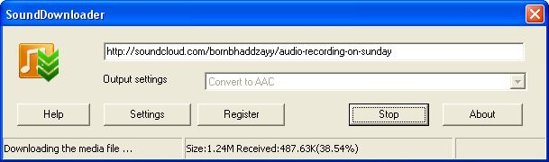 SoundDownloader is a Free, Simple andUseful sounds