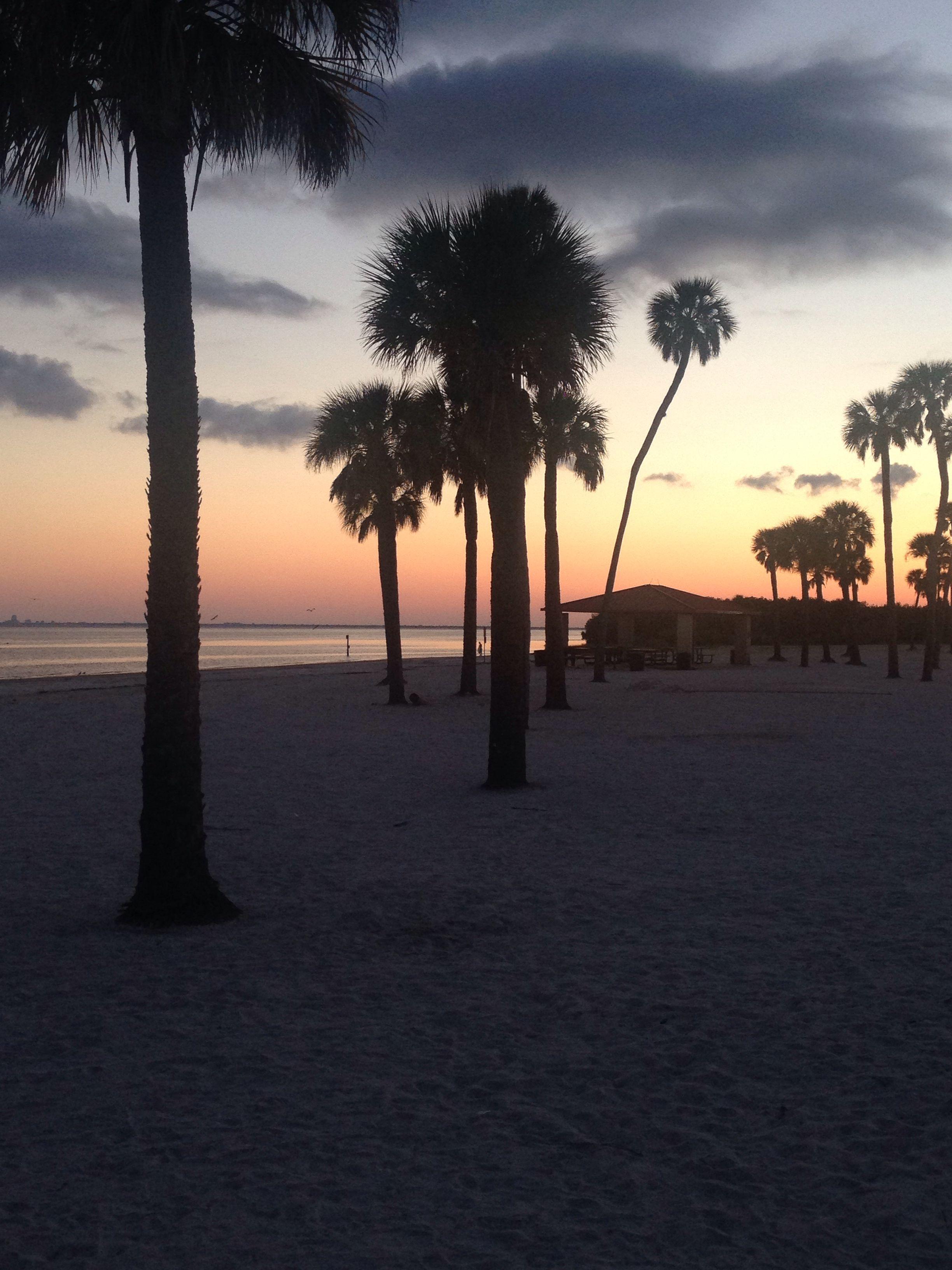 Macdill Afb Beach At Sunset Sunset Beach Hometown