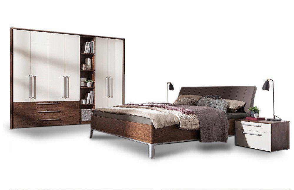 Hochglanz Schlafzimmer ~ Komplett schlafzimmer panarea in hochglanz weiu df mit