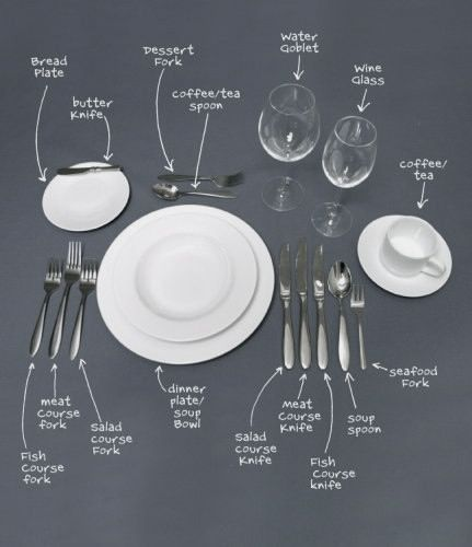 You never know when you may want to have a formal dinner party!